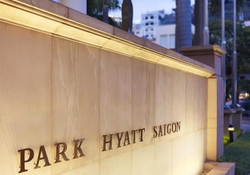 Park Hyatt Hotel entrance