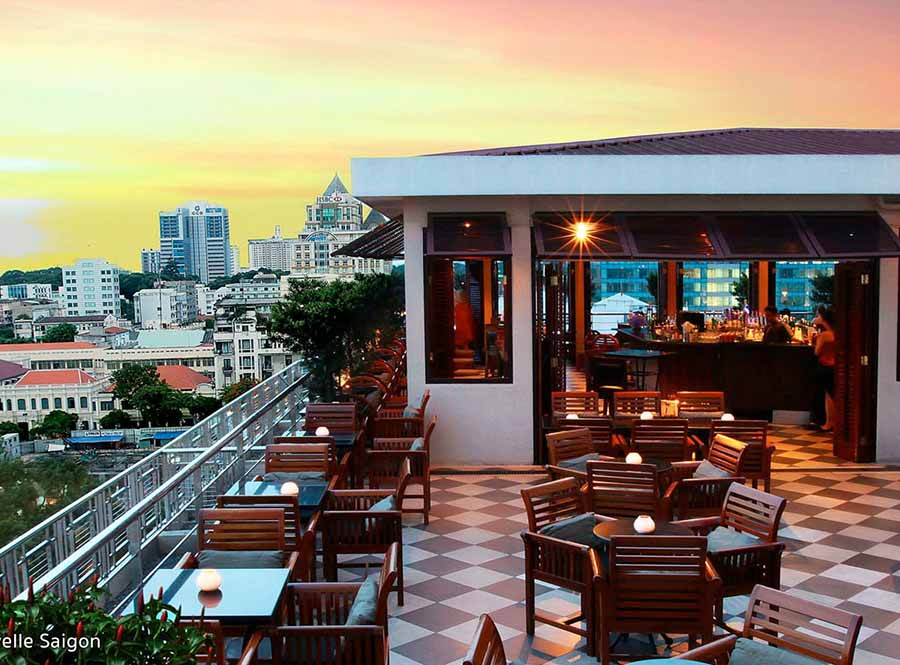 best rooftop bars saigon