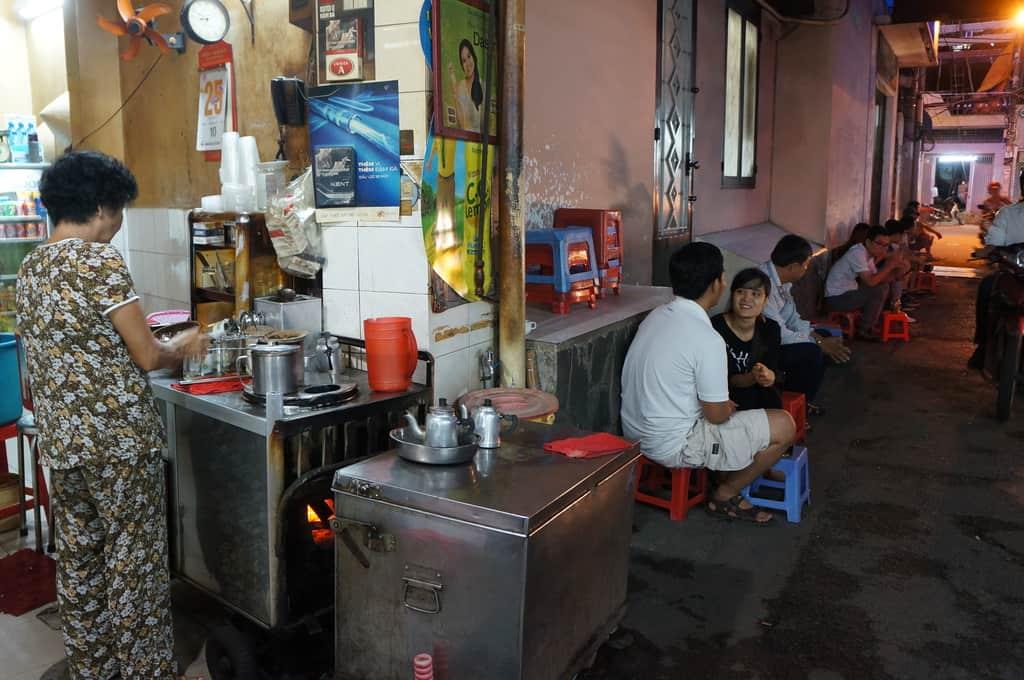 past 60 years coffee, Hell Coffee shop