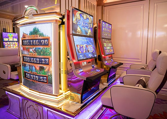 Where can you play slots & casino game in Saigon?