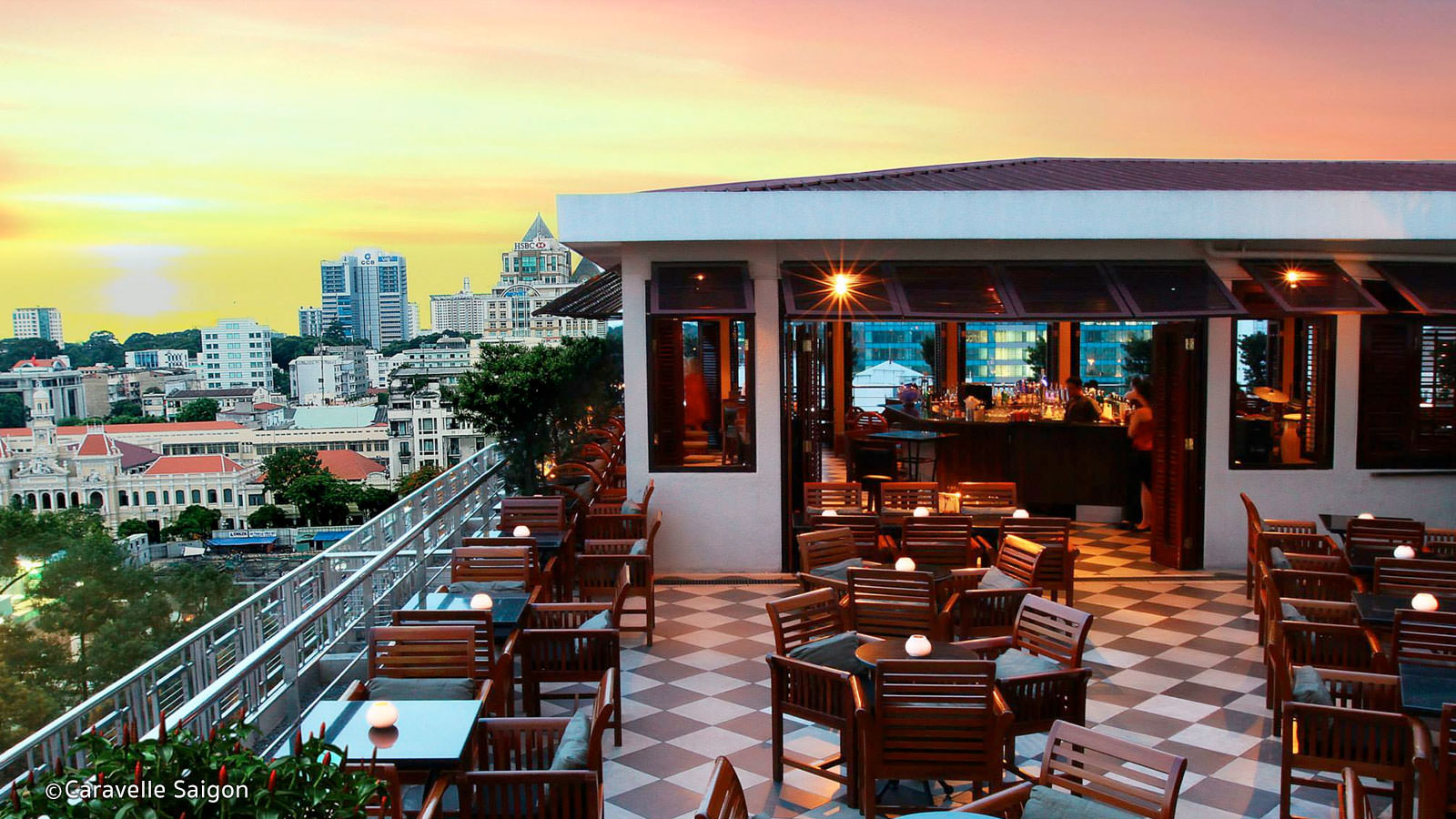 Image result for saigon saigon rooftop bar