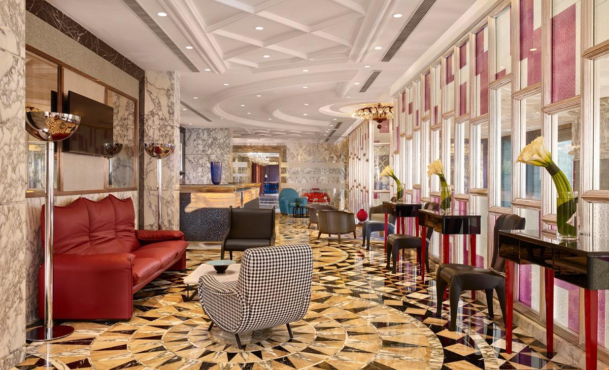 The Reverie Saigon the elegant and modern design interior