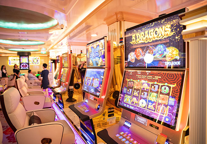 Luxury slots in Vegas VIP floor